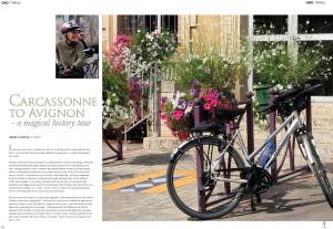 Carcassonne to Avignon –